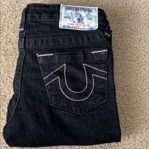 Black kids' jeans